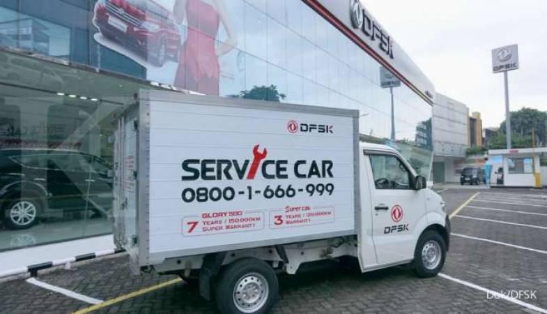 DFSK Melayani Sepenuh Hati Pelanggan Indonesia